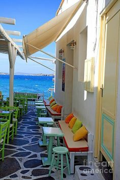 Mykonos, Greece. Would like to travel here one day