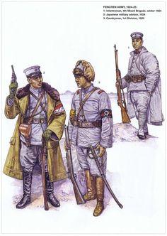Chinese; Fengtien Troops 1925