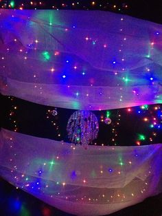 Beautiful home sensory room ...wondering if this is too much for some kids? I think I would use some of it but not all...