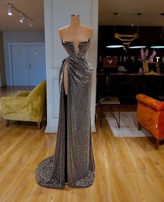 Find the perfect gown with Pageant Planet! Browse all of our beautiful prom and pageant gowns in our dress gallery. There's something for everyone, we even have plus size gowns! Sequin Evening Dresses, Strapless Prom Dresses, V Neck Prom Dresses, Gala Dresses, Event Dresses, Sexy Dresses, Fashion Dresses, Sexy Gown, Reception Dresses