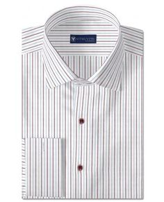 Buy The Russel custom banker shirts for men made out of best ...