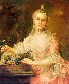 Anna Szaniawska, Marcello Bacciarelli 1758