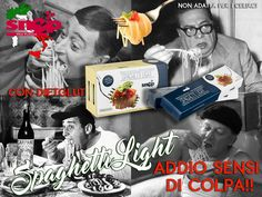Chi ha detto che bisogna rinunciare alla Pasta? Made in Italy, basta rinunce e soprattutto stop ai sensi di colpa!!!! http://www.mysnep.com/spaghetti-light-A40.html