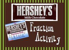 Hershey Fraction Activity