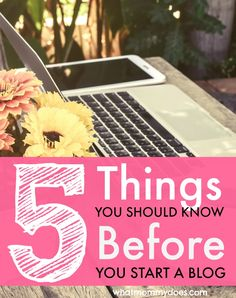 If you want to start a blog to make money, there are a few things you NEED TO KNOW first! Starting a blog isn't as hard as you think, but it takes the right attitude and motivation...it pays off if you know what to expect ahead of time so you can lay the proper foundation before the extra income comes in. Learn it the hard way or get the scoop from this blogger with tons of experience!! {{includes a free detailed tutorial}}