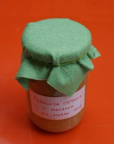 Mermelada de cebolla y manzana. Good Food, Homemade, Desserts, Chutneys, Elba, Frostings, Syrup, Home Canning, Gourmet