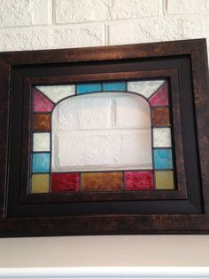 Faux+stained+glass++stained+glass++painted+by+TurtleDoveGlass