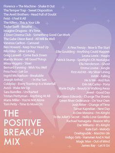 Positive Break Up Songs
