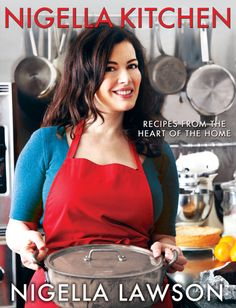 Next cookbook I'm buying, I already love Nigella Express. Nigella Kitchen: Recipes from the Heart of the Home Spinach Pasta, Spinach And Feta, Chef Nigella Lawson, Nigella Lawson Recipes Pasta, Food Network Recipes, Real Food Recipes, Delicious Recipes, Nigella Kitchen, Feel Good Food