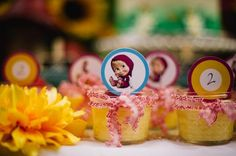 Risultati immagini per masha and the bear birthday decorations Tutti Frutti, Masha Cake, Bear Cupcakes, Masha And The Bear, Bear Party, Bear Birthday, Birthday Party Decorations, Birthday Ideas, Baby Boy Shower