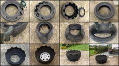 DIY Tire Planter | The Owner-Builder Network