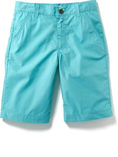 Poplin Flat Front Shorts for Boys In Reef Encounter (I think these would work but not positive. Since they are from old navy, you can walk over to girls dept to compare to dress. They might be too bright.)