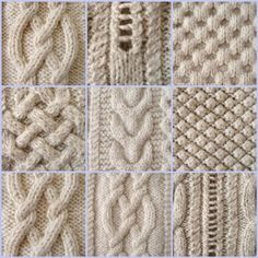 9645ac9c54c how to knit Irish stitch More - Saadia Zeghloul - - comment tricoter le  point irlandais Plus how to knit Irish stitch More -