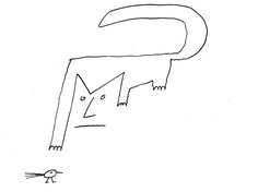 Saul Steinberg Saul Steinberg, Illustrations, Illustration Art, Serge Bloch, Yarn Painting, Simple Minds, Pictogram, Wire Art, Simple Art