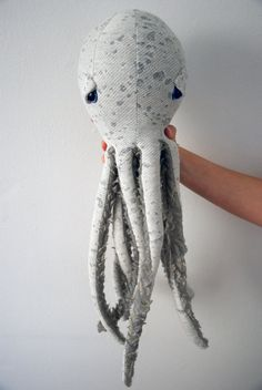 SALE Handmade Plush Octopus Stuffed Animal // Eco by BigStuffed, €70.00