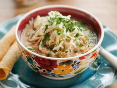 Slow-Cooker White Chicken Chili recipe from Ree Drummond via Food Network