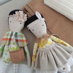 We just discovered these beautiful dolls by @mooseandbird and love too many to pick a favorite!!