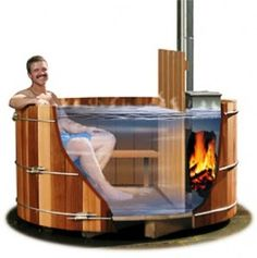 "quote:  ""hot tub"".  Not sure if this is for real - doesn't seem logical - but maybe - quess it saves on electric used to heat tub?"