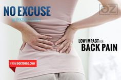 *No Excuse: Back Pain - Living an inactive lifestyle can lead to back pain. Start strengthening your shoulders, neck and back with this workout from personal trainer Donovan Green. It will help you get moving again - pain-free. #TipsToRelieveBackPain