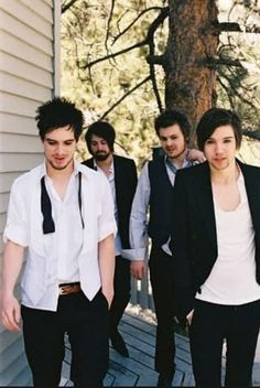 These sexy men are my life Panic! At The Disco, Brendon Urie, Ryan Ross, Spencer Smith, Jon Walker