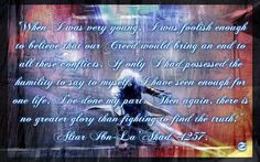 Altair Assassins Creed Quote