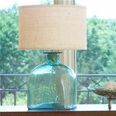 Apothecary Glass Jug Table Lamp