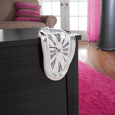 Mainstays Melting Clock: Decor : Walmart.com