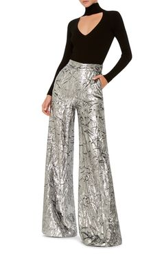 Wide Legged Velvet Trousers by DELPOZO | Moda Operandi