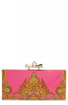 Ted Baker London 'Paisley Jewel' Matinee Wallet available at #Nordstrom