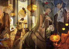 - Hatsune Miku 初音ミク - ☆○ᴏ。.。o○☆ Vocaloid: Hatsune Miku. Vocaloid, Servant Of Evil, Kaito Shion, Kagamine Rin And Len, Evil Art, Mikuo, Tumblr, Anime Artwork, Anime Love