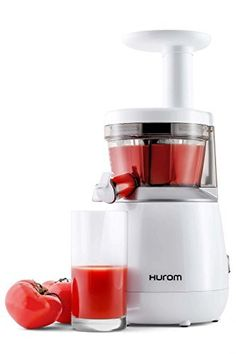 Meet my new favorite kitchen appliance. A juicer is not a necessity (though some might insist otherwise!), but I'm definitely smitten with the Hurom Slow Juicer. Best Masticating Juicer, Hurom Juicer, Best Juicer Machine, Juicer Reviews, Blenders & Juicers, Specialty Appliances, Small Appliances, Juice Extractor
