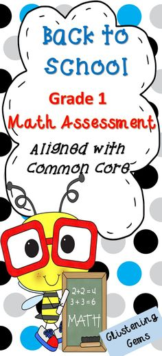 This packet of Math tests is Common Core Aligned and can be used to assess your student's ability level at the start of the year. The tests will help you set up groupings for your students and work out their areas of strengths and goals. There are 5 tests and answer sheets included in this packet. Each test is 2 pages long and has 10 questions in total. The tests comprise of: * partitioning 2 digit numbers * sequencing numbers in order * Filling in missing numbers on a section of a hundred…