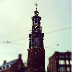 Clock Tower Amsterdam