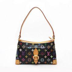 Louis Vuitton Eliza Monogram Multicolor Shoulder bags Black Canvas M40099