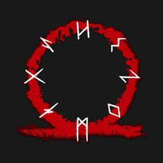 """""""Runes of War Dragon"""" Gaming T-Shirt by Scar Design. On various awesome products, colors and sizes . Kratos God Of War, Symbole Viking, War Tattoo, Dragon Games, Geniale Tattoos, Games For Girls, Mythology, Vikings, Pop Culture"""