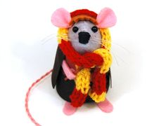 Ron Weasley Harry Potter Mouse Ornament Artisan by TheHouseOfMouse