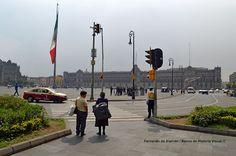 El Zócalo. Main square.