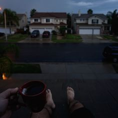 ITAP of me sitting on my roof drinking tea on the first rainy day of autumn http://ift.tt/2eBW6tD