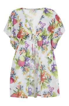 Primark - Floral Printed Kaftan Primark, Fashion Outfits, Womens Fashion, Fashion Trends, Kaftan, Summer Wardrobe, Ibiza, Floral Prints, High Neck Dress