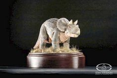 The original Stan Winston Studio design approval maquette for JURASSIC PARK's unseen Baby Triceratops.