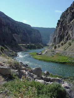 Went there last year beautiful. Wind River Canyon, Wyoming