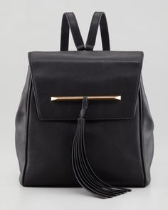 B Brian Atwood Juliette Small Leather Backpack. Sleek/timeless and perfect for Fall