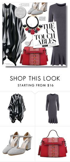 """""""Zaful"""" by sans-moderation ❤ liked on Polyvore featuring Hedi Slimane, Chico's, Fall, polyvoreeditorial and polyvorecontest"""
