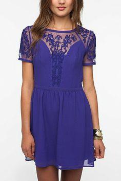 Kimchi Blue Emma Crepe Dress - Urban Outfitters