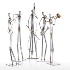 Orchestra Cello Tooarts Metal Sculpture Iron Sculpture Abstract Sculpture Modern Sculpture Band Instrument Home Decoration Ornament Gift