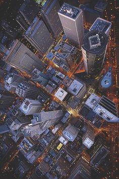 visualechoess:San Francisco Financial District by:Walter Scriptunas II