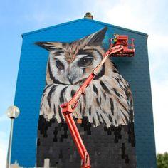 Fabulous Street art illusions by Mantra Rea. CutPaste Studio  Art Artist Artwork Entertainment Street art Murals Beautiful Illustration Painting Graffiti art