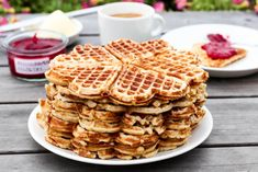 Waffles, Food And Drink, Cookies, Breakfast, Sweet, Desserts, Recipes, Crack Crackers, Morning Coffee
