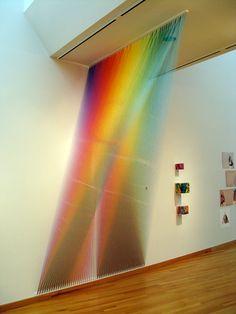De linha em linha, de cor em cor