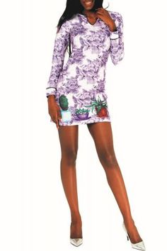 Culito from Spain Floral Prints, Dresses With Sleeves, Long Sleeve, Spain, Products, Fashion, Colors, Flower Pots, Moda